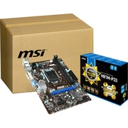 msi® Micro ATX Desktop Motherboard, Intel H81 Express, 10/Pack (H81M-P33-KIT)
