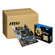 msi® Micro ATX Desktop Motherboard, Intel H81 Express, 10/Pack (H81M-E33-KIT)