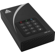 Apricorn Mass Storage 8TB 5 Gbps External Hard Drive, Black (ADT-3PL256-8000)