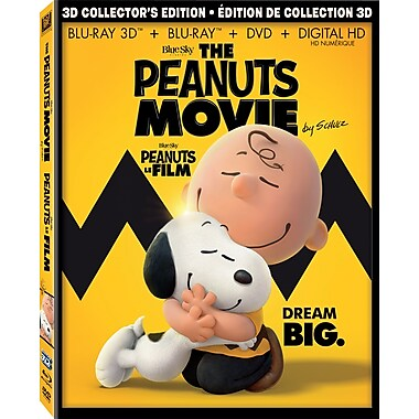 The Peanuts Movie (3D Blu-ray/Blu-ray/DVD)