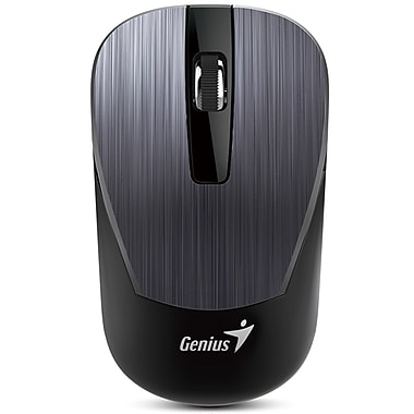 Genius - Souris sans fil 2,4 GHz, gris, anglais (NX7015)