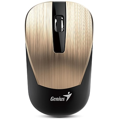 Genius 2.4 GHz Wireless Mouse, Gold, English, (NX7015 GOLD)