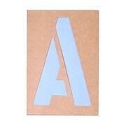 "Cosco® Reuseable Stencil Kit, 7"", Cardboard (90311)"