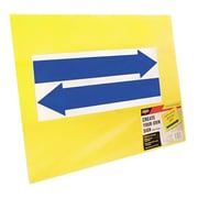 "Cosco® Blank Stake Sign, 15"" x 19"", Yellow (98227)"