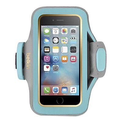 Belkin Slim-Fit Plus Armband for iPhone 6\/6s, F8W634-C02, Swim