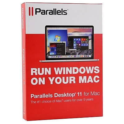 Parallels Desktop 11 Software, Windows/Mac (8129588)