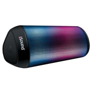 iSound® iGlowsound™ ISOUND-6703 3.5 W Tower Rechargeable Bluetooth Speaker, Black