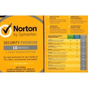 Symantec™ Norton™ Premium Security with Backup Software, Windows/Mac (21351350)