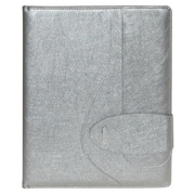 Buxton® Sapphire Silver Leatherette Writing Pad (ST574006)