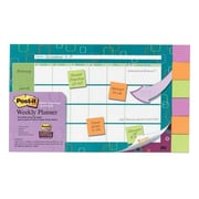 "Post-it® 18"" x 12"" Planner with Super Sticky Notes (730-CAL-SMB)"