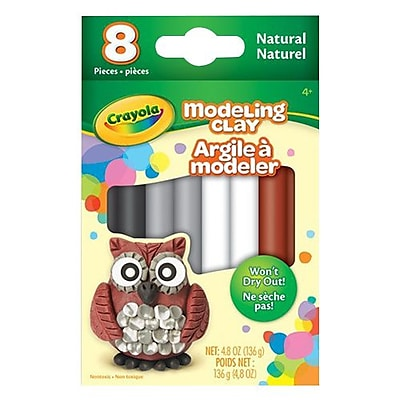 Crayola Modeling Clay Neutral Assorted 8 Pack 57 0314