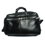 "Heritage 921455 Travelware American Tourister 17 1/2"" Faux Leather Laptop Briefcase, Black"