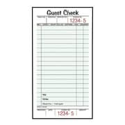 TOPS™ Perforated Guest Check Pad, 1-Part, 50 Sheets/Pad (525SW)