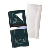 "Southworth® Linen Business Envelope, 9 1/2"" x 4 1/8"", White, 50/Pack (P554-10)"
