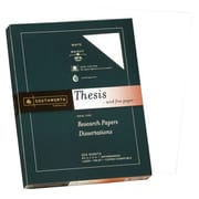 "Southworth® Wove Thesis Paper, 8 1/2"" x 11"", Bright White, 250/Pack (35-120-10)"