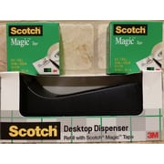 "Scotch® Magic Tape with Desktop Dispenser, 3/4"" x 41.6 yds. (C38-MX)"