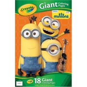 Crayola Minions Giant Coloring Pages (01-04-2004)