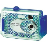 vivitar® AquaShot Underwater Digital Camera, Turquoise (26693-BLUE-KM)
