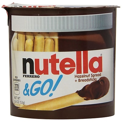 Nutella Nutella Go! Spread and Breadstick Single Serve Hazelnut 12 Pack NUTELLA12