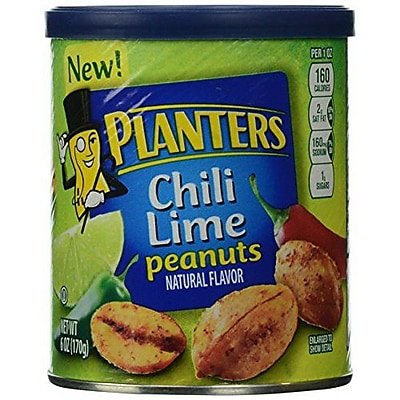 Planters Flavored Peanuts 35 Pieces Chili Lime PLANTERS1948