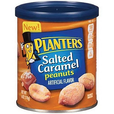 Planters Flavored Peanuts 6 oz. Salted Caramel PLANTERS1945