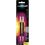 Sanford® Uni-Ball 207 Rollerball Gel Pen Refill, Micro Point, Black Ink, 2/Pack (1783959)