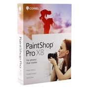 Corel® PaintShop Pro X8 4.0 Software, Windows, DVD, (8129162)