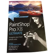 Corel® PaintShop Pro X8 Ultimate Software, Windows (8129235)