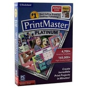 Encore® PrintMaster® Platinum 7.0 Software, Windows/Mac, DVD (8129191)
