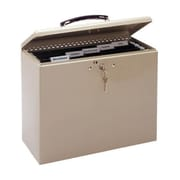 MMF™ Portable Security File Box, Sand (227109003)