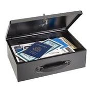 MMF™ Fire-Retardant Security Box, Black (2216140BP04)