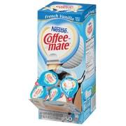 Nestle® Coffee-Mate® Single Serve Liquid Coffee Creamer, French Vanilla, 0.38 fl oz., 50/Pack (35170)