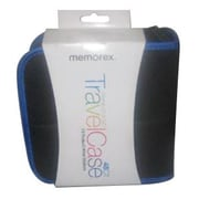 Memorex® 48 Capacity CD/DVD Travel Case, Black/Blue (32020021682)