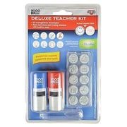 Cosco® Consolidated Message Stamp Kit, Red/Blue (063614)