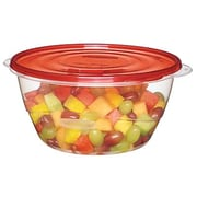 Rubbermaid® TakeAlongs® 15.7 Cups Clear/Red Plastic Serving Bowl (1787831)