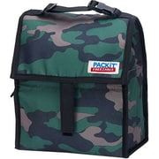 PACKIT® Freezable Lunch Bag with Zip Closure, Classic Camo (PC-MX-0025)