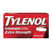 Tylenol® Extra Strength Caplet, 12/Pack (44915)