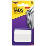 "Post-it® 2"" x 1 1/2"" Solid Angled Tab, White, 24/Pack (686A-24WE)"