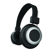 Tzumi 2688ST Bluetooth Stereo Over-the-Ear Headphone, Black/Silver