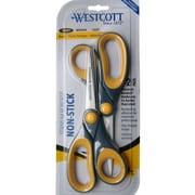 "Westcott® 16550 8"" Non-Stick Bonded Straight Scissor"