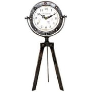 "Ashton Sutton Tripod Table Clock, 15"" x 7"" (CX1611)"