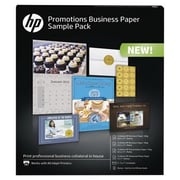 HP® Promotions Business Paper Sample Pack, Assorted Size, Bright White (K0A22A)