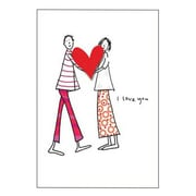 Hallmark Anniversary Greeting Card, I Love You (0595QUA2110)