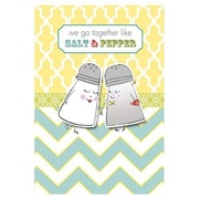 Hallmark Anniversary Greeting Card, We go Together Like Salt & Pepper (0395QUA2167)