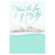 Hallmark Anniversary Greeting Card, You?re the Love of My Life (0395QUA2107)