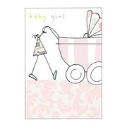 Hallmark Baby Greeting Card, Baby Girl (0295QBA1129)
