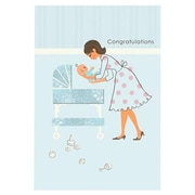 Hallmark Baby Greeting Card, Congratulations (0395QBA1164)