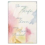Hallmark Birthday Greeting Card, to My Wife, My Love, My Best Friend (0295QUF3168)