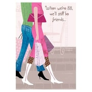 Hallmark Birthday Greeting Card, When We're 88, We'll Still be Friends  (0595QBX1510)