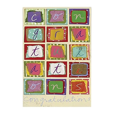 Hallmark Congratulations Greeting Card Congratulations 0250QSO1801